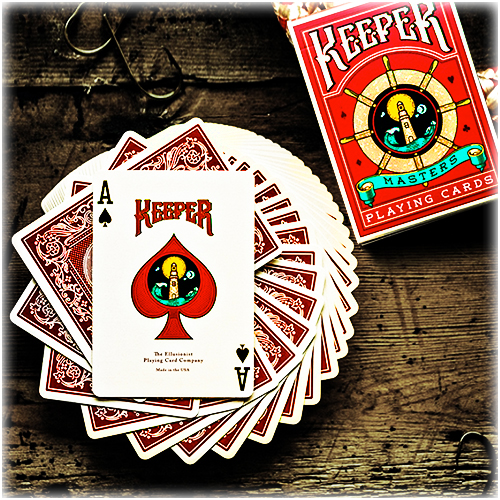 Keeper Playing Cards - RED