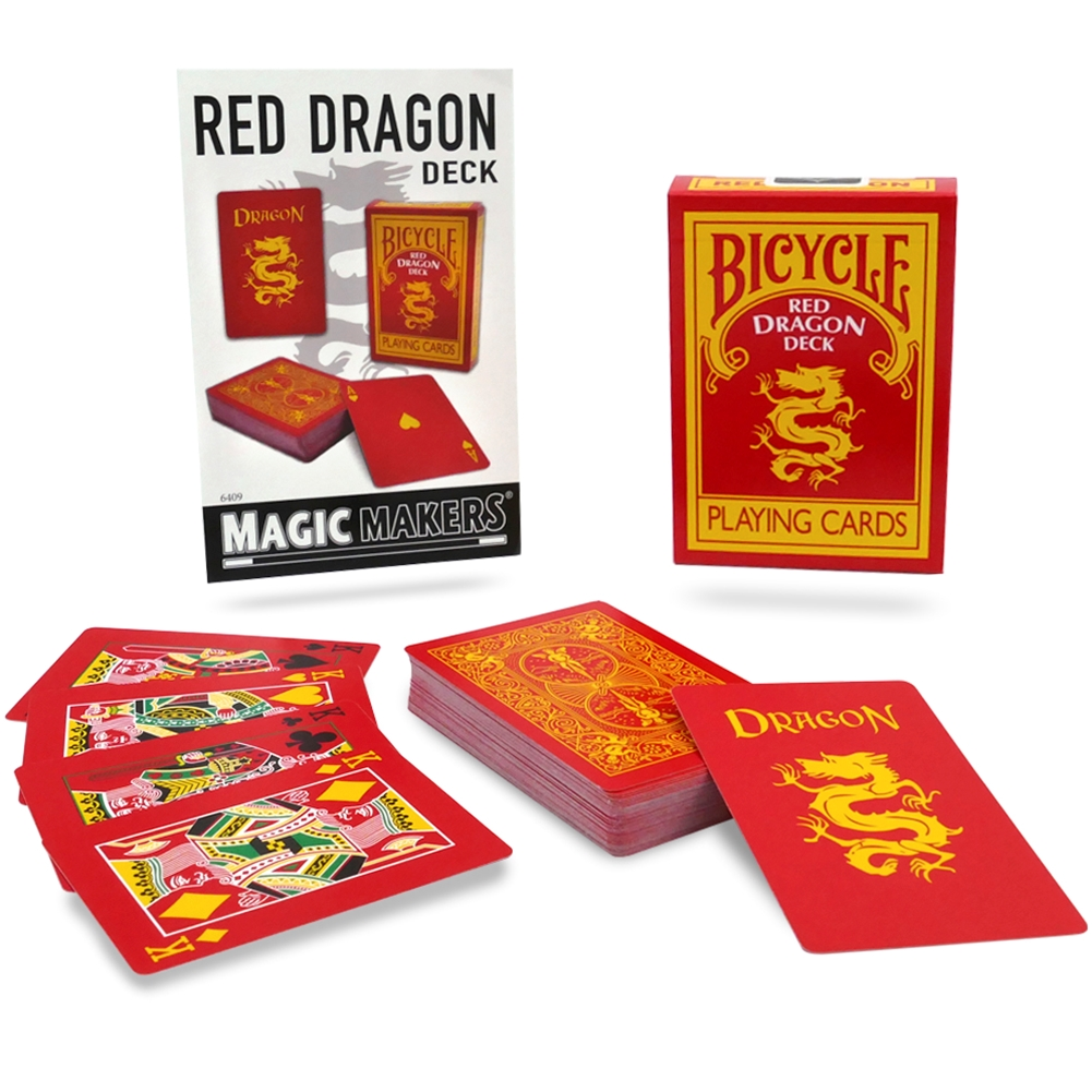 Bicycle - Red Dragon Deck