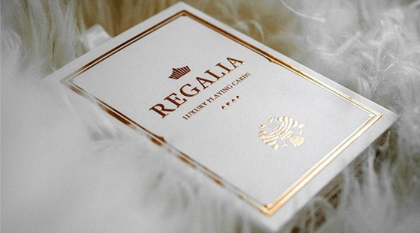 Regalia Playing Cards WHITE