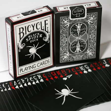 Bicycle - Black Spider Deck