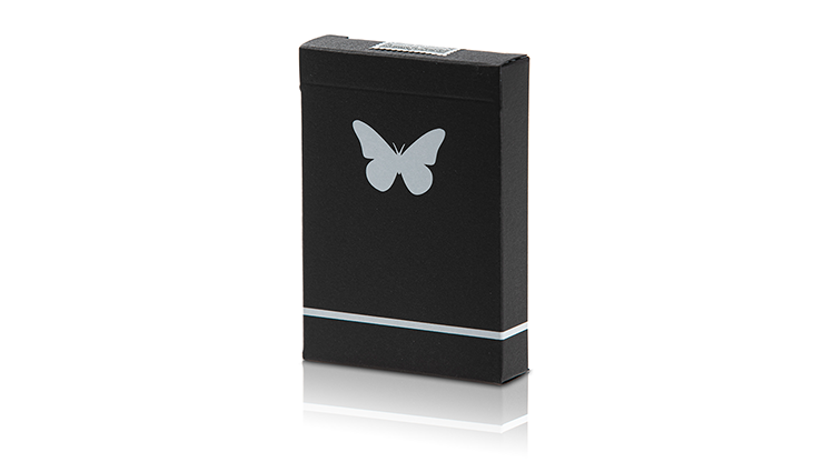 Butterfly Playing Cards Marked (Black and White)